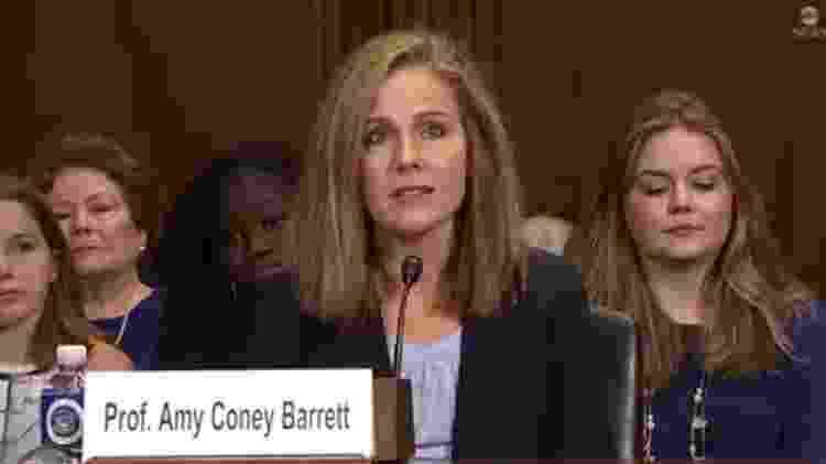 Amy Coney Barrett - Reprodução/ABC News - Reprodução/ABC News