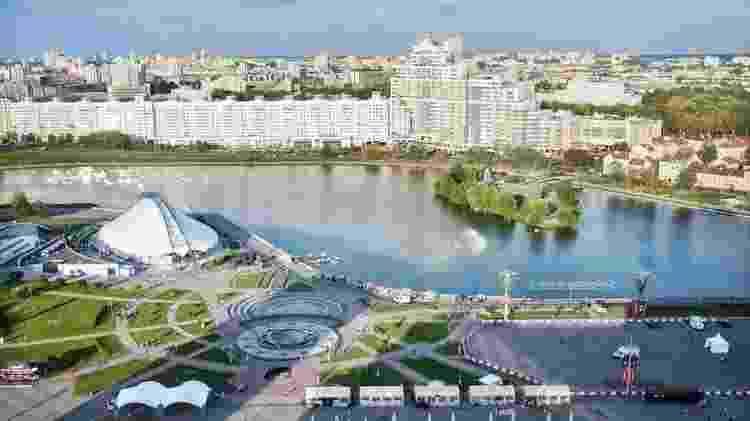 Arquitetura de Minsk lembra passado soviético - Getty Images - Getty Images