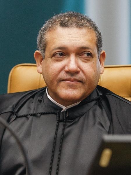 O ministro do STF Kassio Nunes Marques no dia de sua posse no plenário do Supremo - Nelson Jr/STF