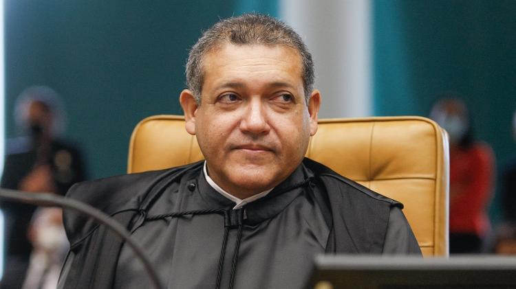 O ministro do STF Kassio Nunes Marques, no dia de sua posse no plenário do Supremo - Nelson Jr / STF - Nelson Jr / STF