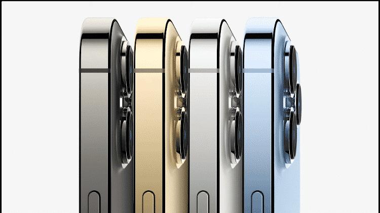iPhone 13 Pro será vendido em quatro cores - Reprodução - Reprodução