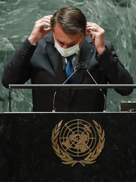 """Governo de Jair Bolsonaro é avaliado como """"ruim ou péssimo"""" por 53% dos entrevistados, segundo Ipec - AFP"""