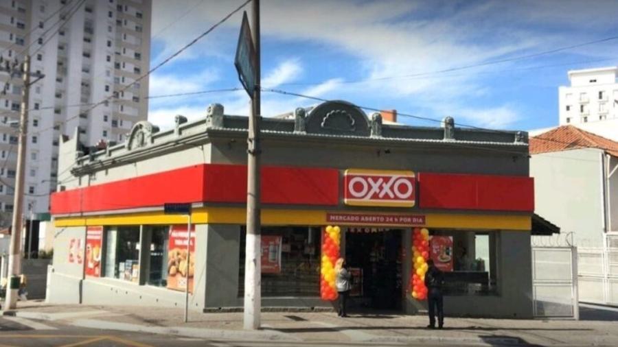 O furto ocorreu em uma unidade da rede OXXO, na Vila Mariana, zona sul da capital paulista  - Reprodução/Google Maps