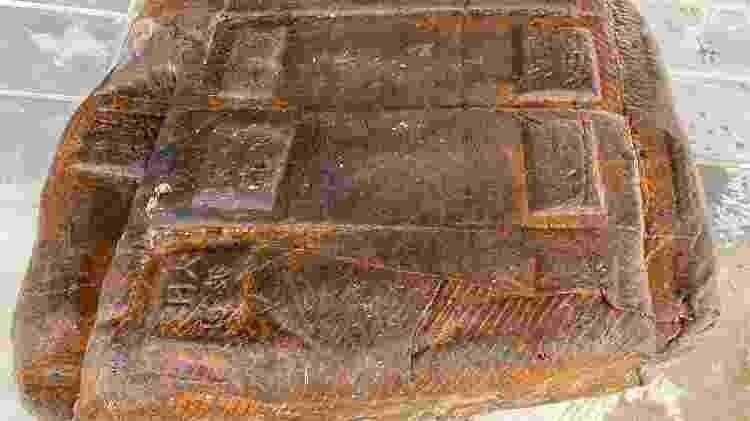 Fardo achado em alagoas com inscrição em ideograma japonês chamou atenção - Cláudio Sampaio/Ufal - Cláudio Sampaio/Ufal