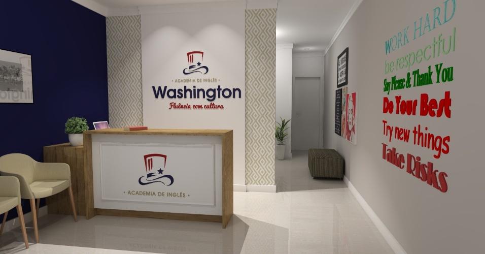 Franquia Academia Washington, rede de escolas de idioma