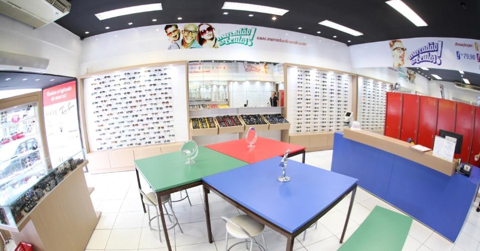 Loja da franquia Mercadão dos Óculos