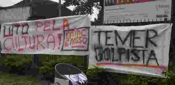 Protestos contra o fim da pasta aconteceram em Curitiba (foto) e outras cidades - Reprodução/MincResiste/Facebook