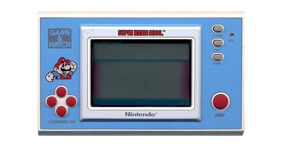 Videogame portátil da Nintendo (1987). Esse é um dos objetos extintos que integram a enciclopédia virtual criada pela startup russa Thngs para eternizar tecnologias do passado