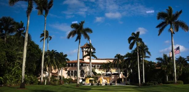 Resort Mar-a-Lago, de Donald Trump, retiro do presidente eleito dos Estados Unidos