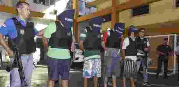 Integrantes do grupo de Nego Jackson são detidos no Paraguai, em agosto de 2016 - Senad (Secretaria Nacional de Drogas) e Polícia do Paraguai - Senad (Secretaria Nacional de Drogas) e Polícia do Paraguai