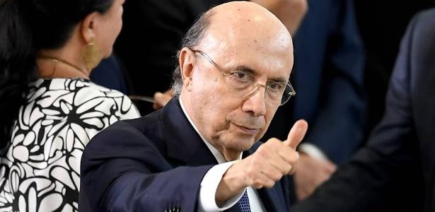 8.mar.2017 - o ministro da Fazenda, Henrique Meirelles, no Palácio do Planalto