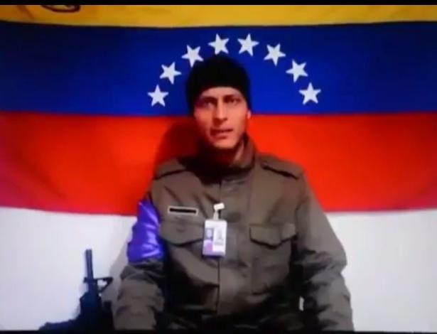 Oscar Pérez, que disparou de um helicóptero contra o Supremo da Venezuela