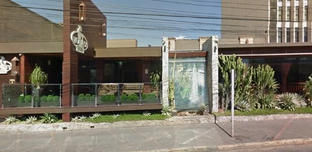 Fachada da boate Valley Pub, em que motorista atropelou manobrista em Cuiabá