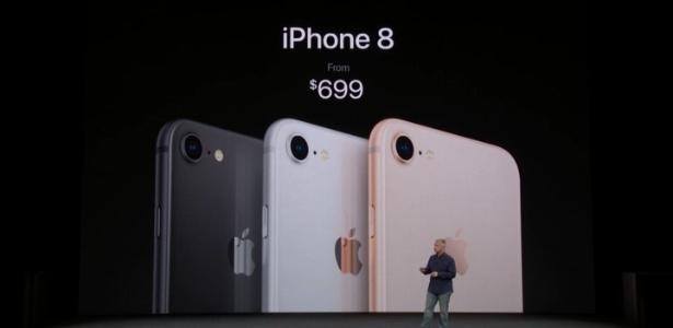 Será que o lucro da Apple com o iPhone 8 é grande? - Reprodução