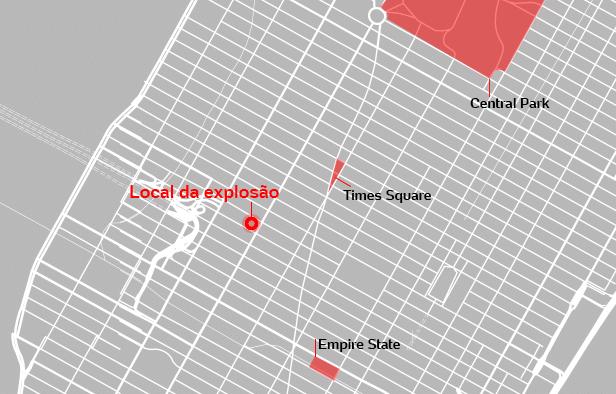 Explosão em NY foi tentativa de ataque terrorista, confirma prefeito