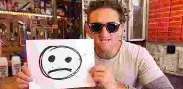 Youtuber norte-americano Casey Neistat - Reprodução - Reprodução