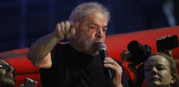 Lula participa de ato em SP após ter sido condenado pelos desembargadores do TRF-4