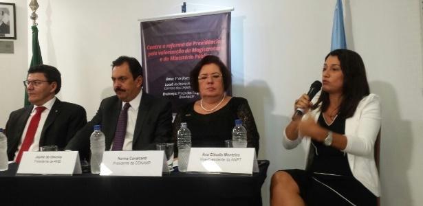 Associações de juízes e de membros do Ministério Público anunciam uma mobilização
