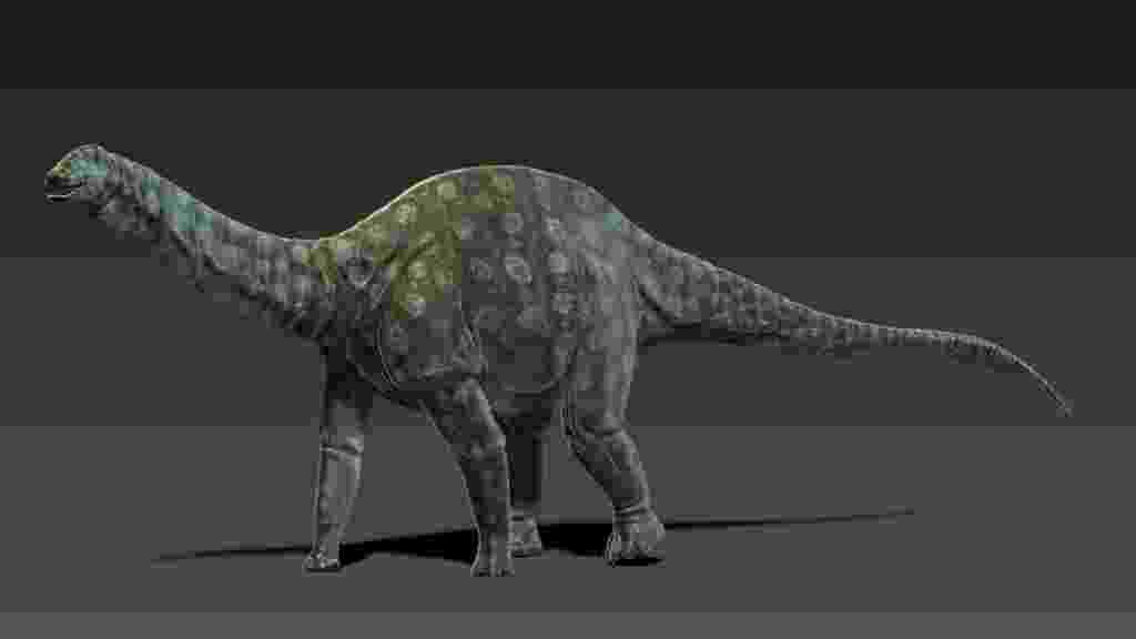 Amazonsaurus maranhensis - Rodolfo Nogueira / Divulgação