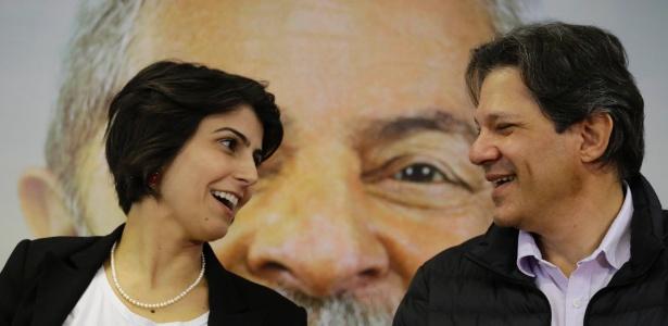 Manuela D'Avila e Haddad convocaram a imprensa para explicar chapa com 2 vices