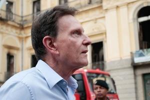 Como Crivella perdeu apoios e passou a enfrentar um processo de impeachment  (Foto: Diego Maranhão/Estadão Conteúdo)