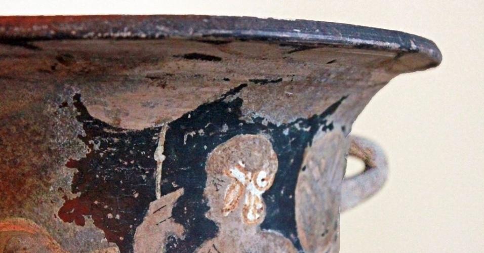 Peça da Coleção Teresa Cristina, do Museu Nacional