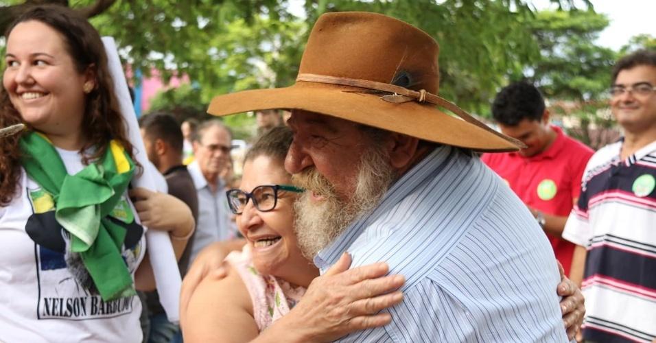 5.out.2018 - O deputado federal mais votado em Mato Grosso foi Nelson Barbudo (PSL). Ele recebeu 126 mil votos