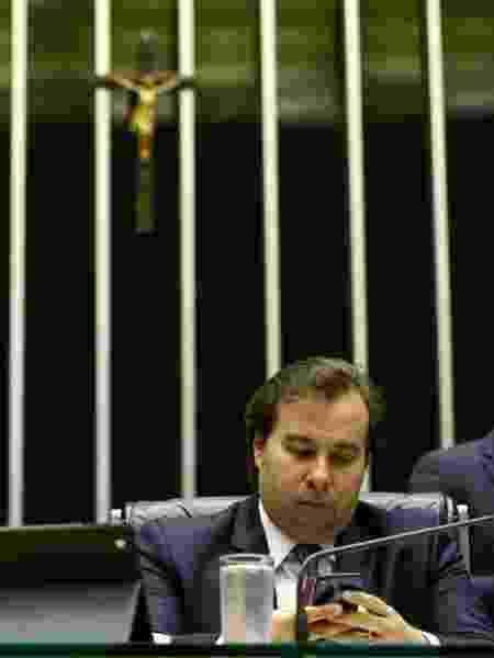 26.set.2017 - O deputado federal Rodrigo Maia (DEM-RJ), candidato à Presidência da Câmara - Pedro Ladeira/Folhapress