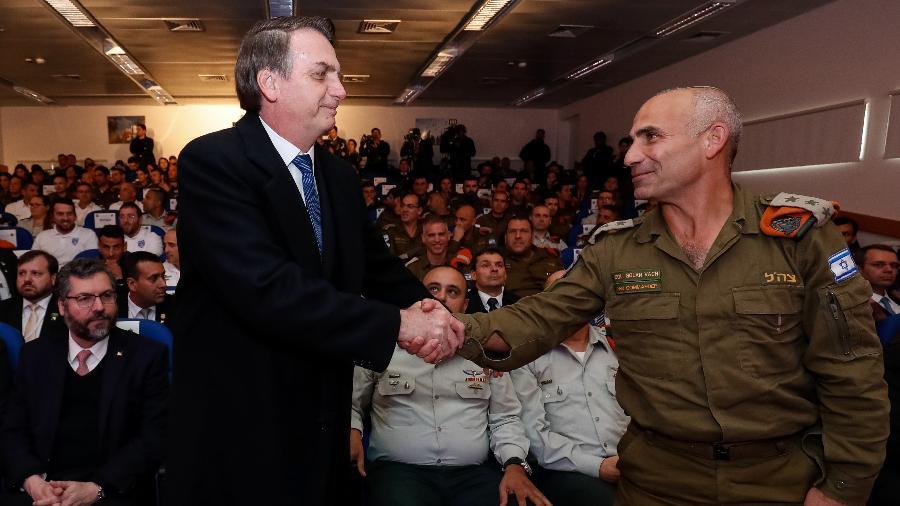1.abr.19 - Cerimônia de condecoração da Brigada de Busca e Salvamento do Comando da Frente Interna de Israel com a Insígnia da Ordem Nacional do Cruzeiro do Sul - Alan Santos/PR