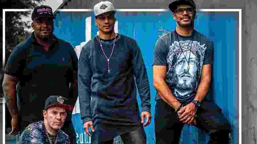 A banda Sampa Crew - Divulgação