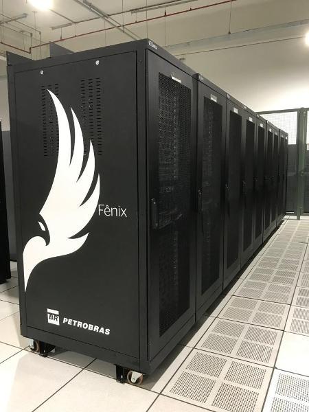 Fênix HPC, supercomputador da Petrobras que é o 142º mais poderoso do mundo - Agência Petrobras/Divulgação