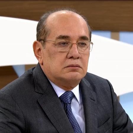 """Gilmar Mendes durante participação do programa """"Roda Viva"""", da TV Cultura - Reprodução/TV Cultura"""