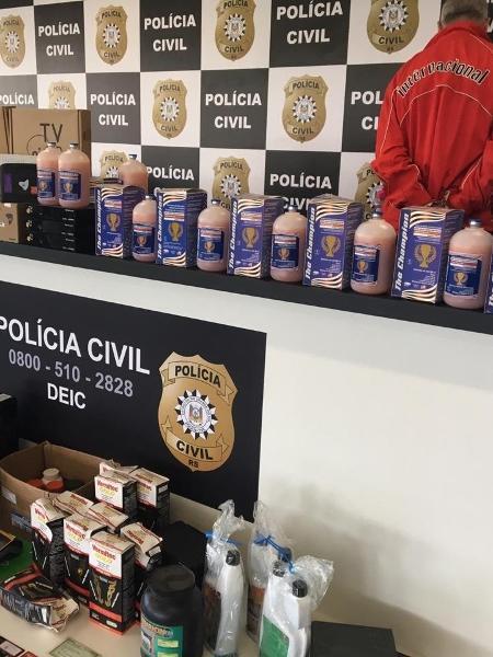 Homem preso por fazer compras em nome de autoridades, segundo a Polícia Civil - Polícia Civil / Divulgação