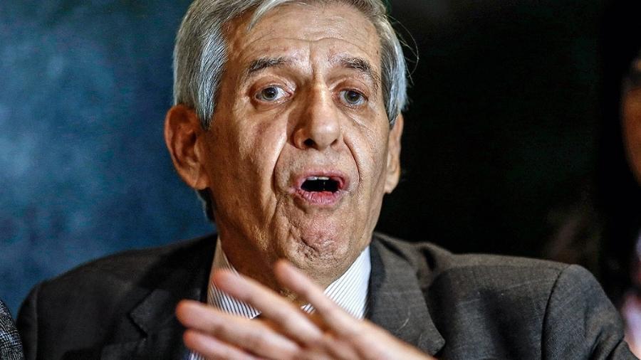 General Augusto Heleno: esperava-se que fosse atuar como força de contenção. Em vez disso, ele vem radicalizando posições antidemocráticas  - Dida Sampaio/Estadão Conteúdo