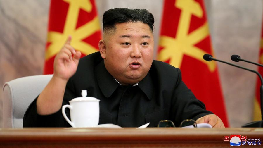 Regime norte-coreano, liderado por Kim Jong Un, impôs um confinamento à cidade de Kaesong - KCNA via Reuters