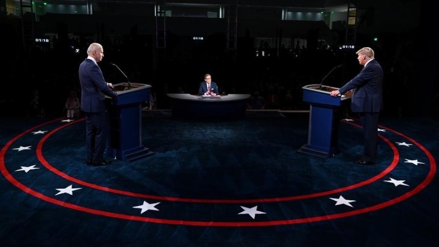 Joe Biden se empenhou em demonstrar que pode suportar pressão - Reuters