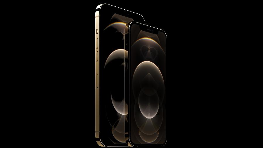 iPhone 12 Pro Max e Pro - Divulgação/Apple