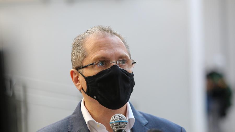 Jean Gorinchteyn confirmou a entrega de 1 milhão de doses da CoronaVac para esta semana  - Sergio Andrade/Governo do Estado de São Paulo