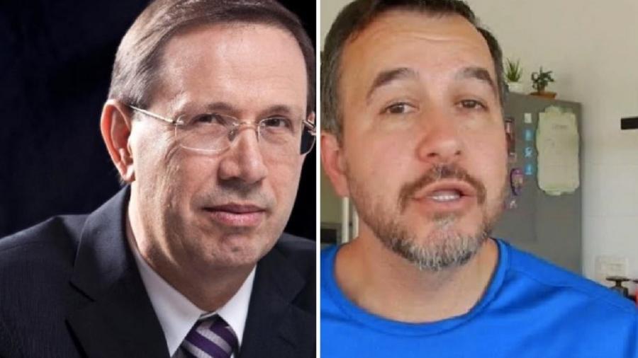 Carlos Wizard e Alexandre Figueiredo Costa Silva Marques: ambos recorreram ao Supremo pelo direito de ficar em silêncio da CPI - Reprodução; Reprodução