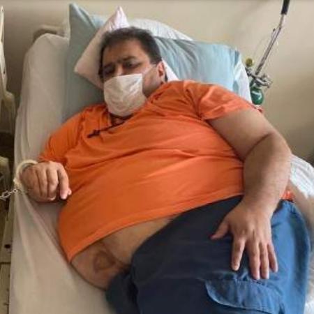 O boliviano Jesus Einar Lima Lobo Dorado, o Dom Pulo, extraditado para o Brasil no mês passado - Reprodução/SSP
