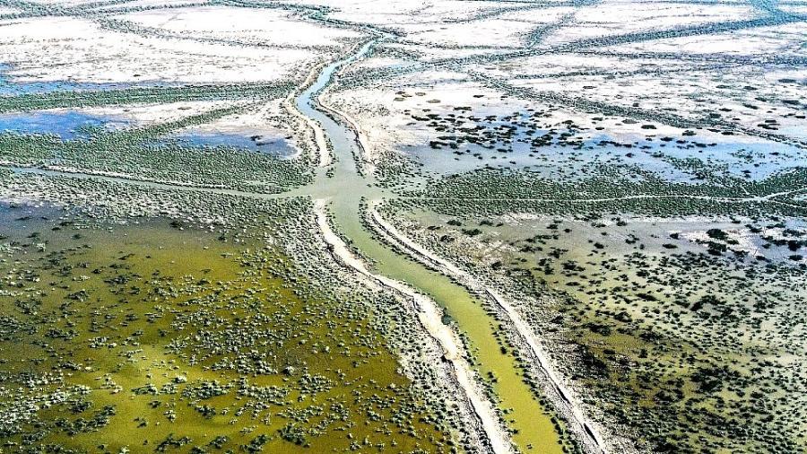 Falta de água afeta aproximadamente 40% da população mundial e está causando conflitos e migrações - ASAAD NIAZI/AFP/GETTY IMAGES