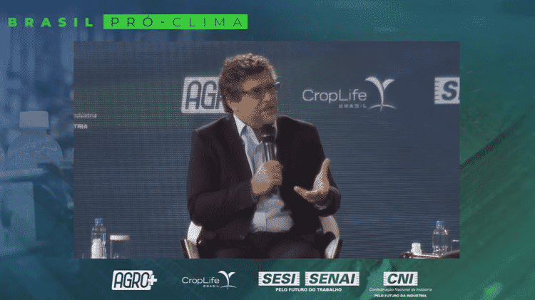 'Instituições vivem do confronto porque recursos bilionários são direcionados a elas', disse o presidente da CropLife Brasil, Christian Lohbauer - Reprodução/Youtube - Reprodução/Youtube