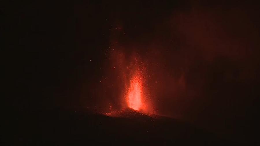 Television Canaria exibe erupção vulcânica ao vivo em canal do YouTube - Reprodução/TelevisionCanaria