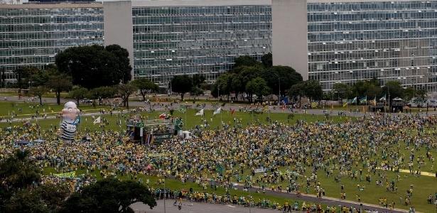 Manifestação em Brasília reúne grupos conservadores - Pedro Ladeira/Folhapress