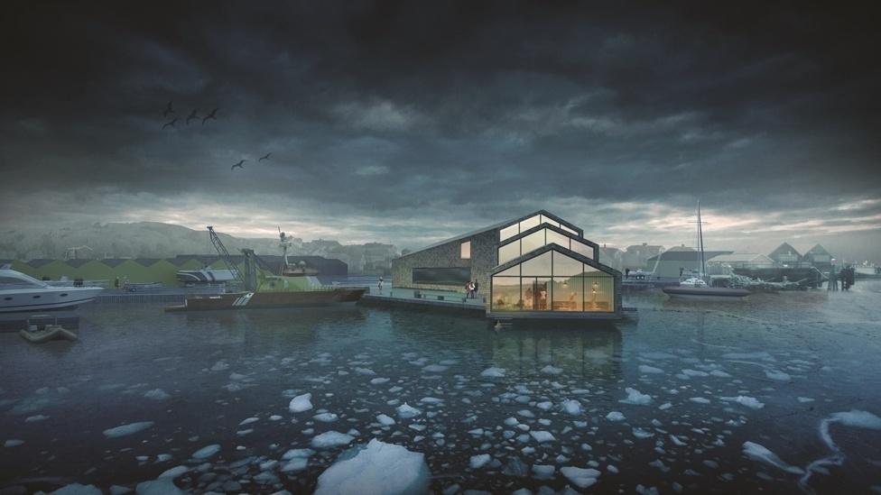 O Prêmio Jeu d'Esprit para um projeto de escritórios em Roro, na Suécia. Este projeto mostra um escritório sustentável para a Sociedade Sueca de Resgate Marítimo e ilustra como um local de trabalho pode ser construído em um ambiente extremo.
