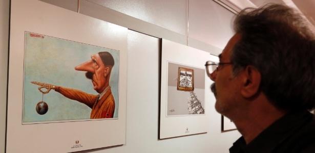 """""""Segunda exposição internacional de caricaturas sobre o Holocausto"""" recebeu críticas"""