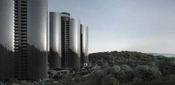 Porsche Design Towers Brava, o primeiro da América Latina, projetado para ser construído em Itajaí, litoral catarinense   - Divulgação