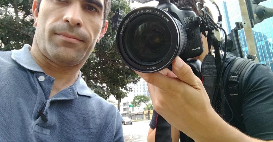 Foto tirada com câmera frontal do Moto Z no modo automático