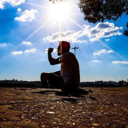 Média das temperaturas máximas foi de 31,8°C em São Paulo no mês de janeiro - Bruno Poletti/Folhapress
