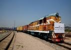 Chega à China o primeiro trem direto de Londres - Thomas Peter/ Reuters